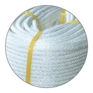 เชือกธง (เชือกไนล่อนขาวถัก) Signal halyard (Flag Line rope)