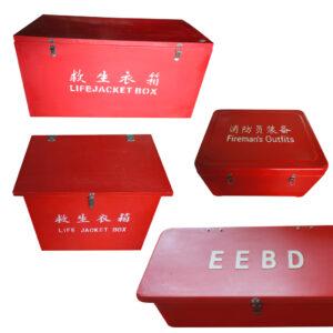Fibreglass box