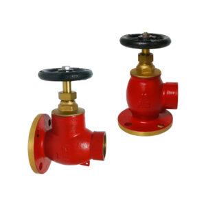 Fire hose valve