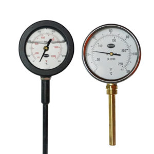 Gauge thermometer