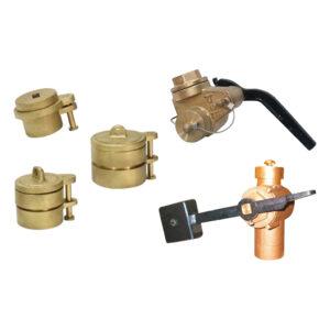 Sounding pipe valve